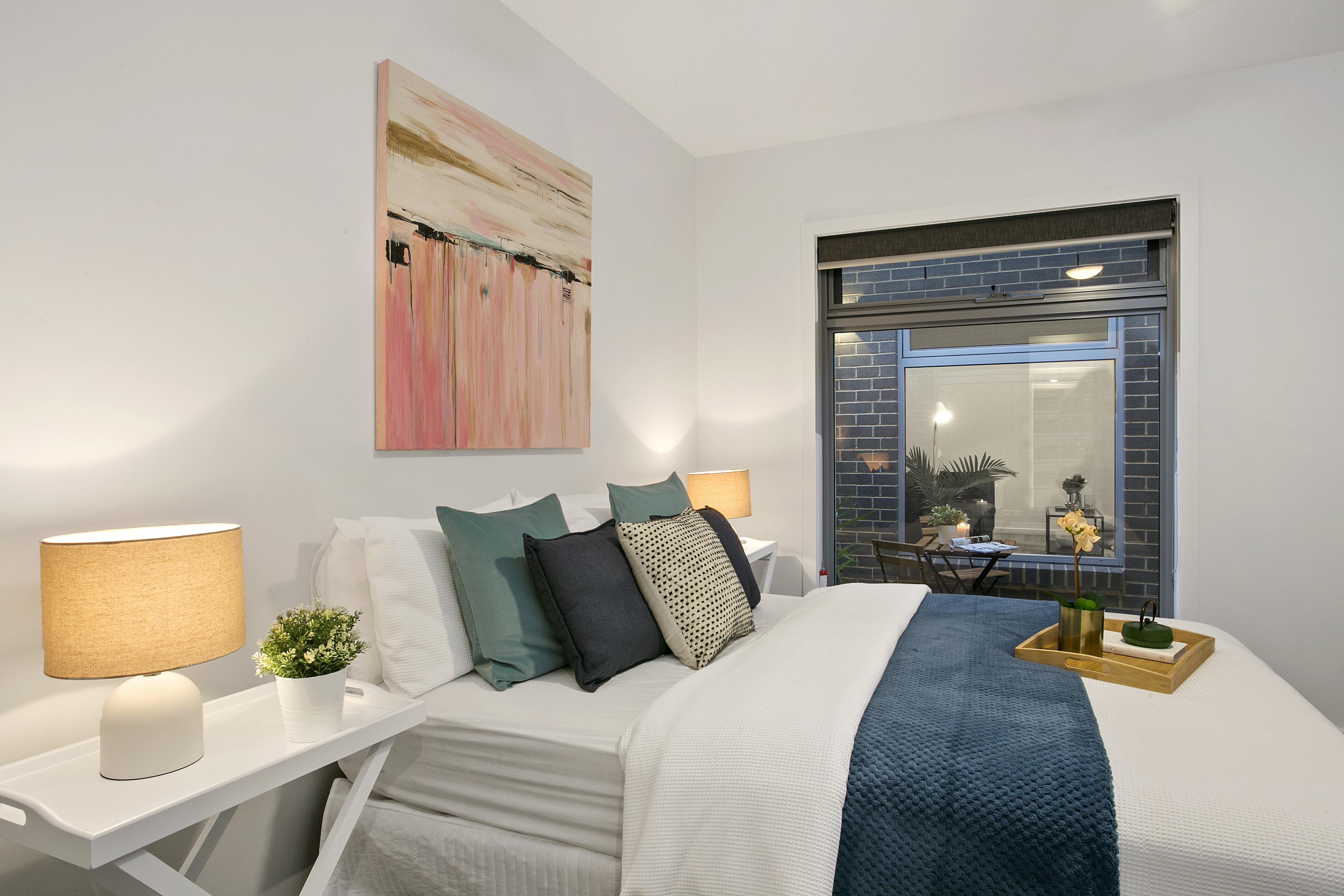 draper street master bedroom